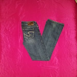 Silver Tuesday Jeans Womens Bootcut Stretch Jeans